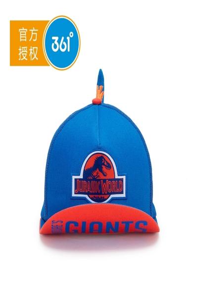 361°361童装儿童鸭舌帽2018新款夏季遮阳帽侏罗纪款帽子   抖音