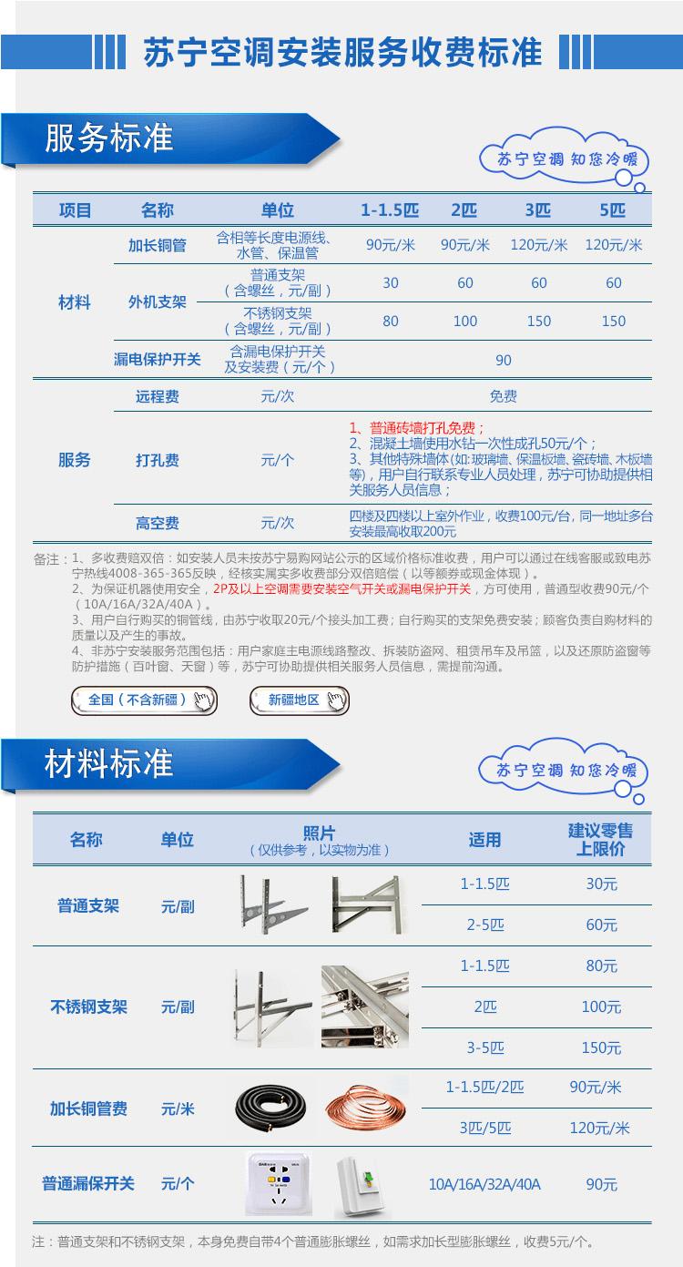 【苏宁专供】eshare乐华海倍空调 KFRd-72LW/S22