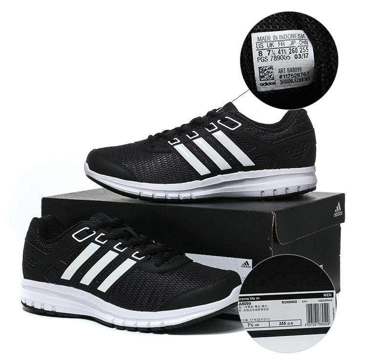 Hombres Adidas Energy nube azul negro zapatos para correr PGS 789005 12 / 16