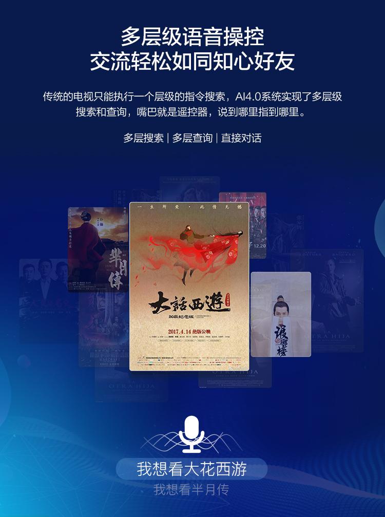 【苏宁专供】长虹电视55Q6S