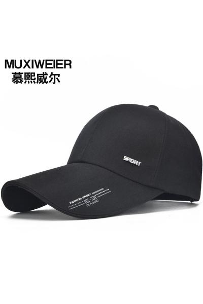 新款棒球帽子男女鴨舌帽新品韓版潮戶外運動休閑防曬遮陽帽釣魚帽