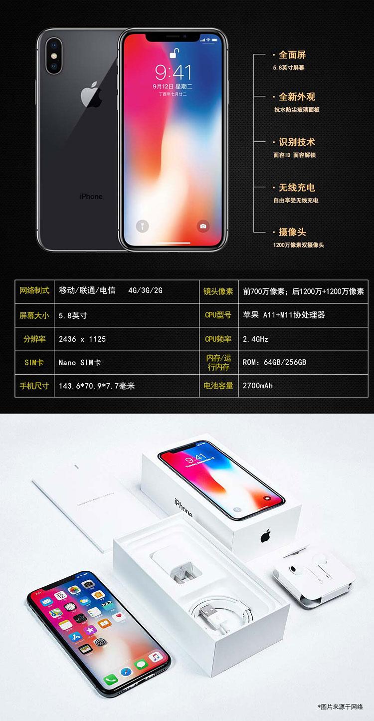 iPhoneX参数