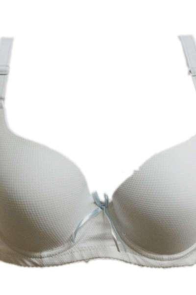 光面薄杯聚拢整型内衣 青年女性透气舒适文胸B杯