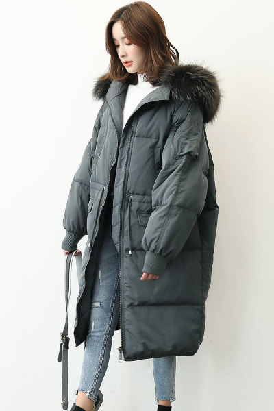 yaloo/雅鹿新款冬装羽绒服女加厚中长款 韩版宽松加厚外套潮流
