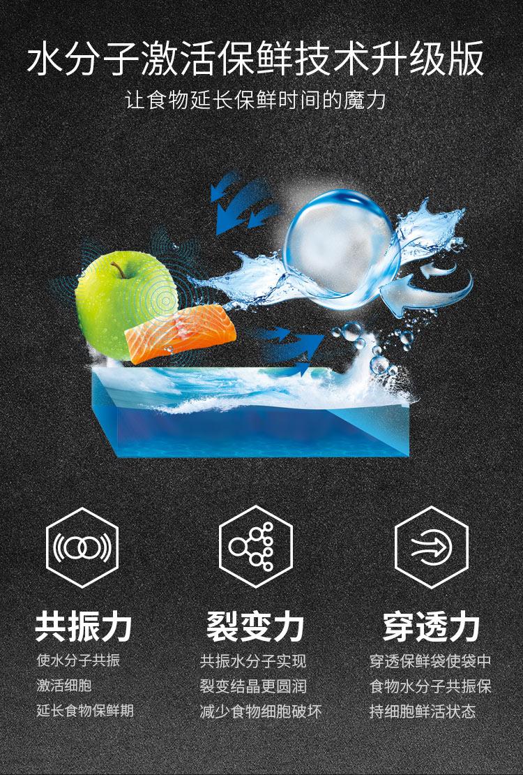【苏宁专供】美菱冰箱BCD-681WQ3S 精确变频 风冷无霜 底部散热 超薄箱体( 凯撒灰 )
