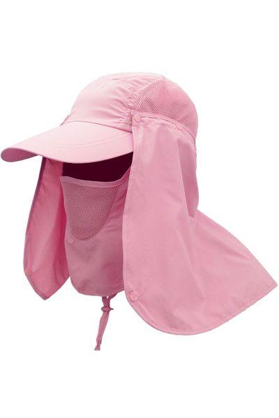 太阳帽 遮阳帽男女百搭 通用夏天帽子钓鱼帽户外防晒登山帽垂钓帽骑行帽速干防紫外线 TCVV