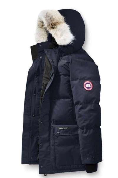 CANADA GOOSE加拿大鹅男士羽绒派克大衣Emory系列羽绒服625蓬松白鸭绒AdmiralBlue蓝色户外羽绒衣