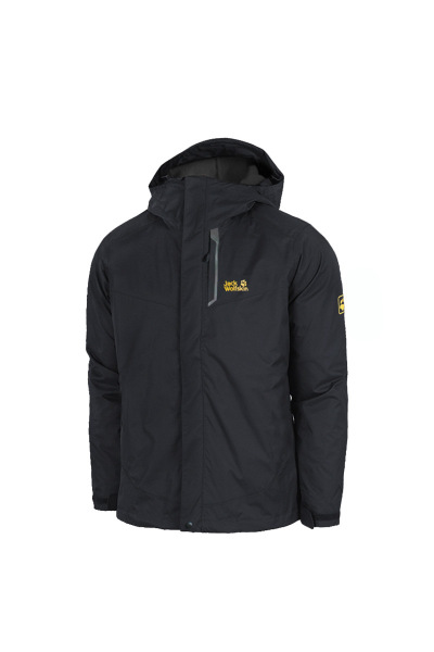Jackwolfskin狼爪三合一冲锋衣男17冬新款户外保暖两件套5012471