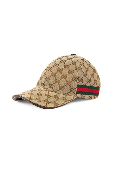 GUCCI古驰棒球帽 百搭男女通用帽 男女同款棕色可调节帽子鸭舌帽